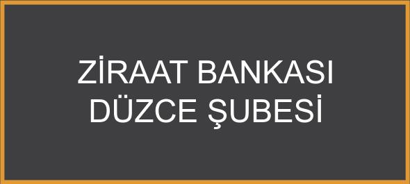 Ziraat Bankası Düzce Şubesi